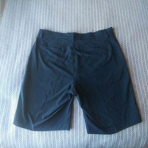 Nike Golf Dri Fit Navy Blue Bermuda Shorts 34